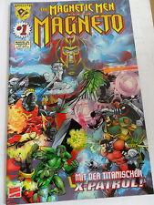 1x Comic Marvel Crossover Nr. 4 - Die Magnetic Men mit Magneto (Amalgam) TOP
