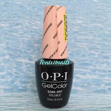 OPI GelColor GC T74 STOP IT I'M BLUSHING ~ SOFT SHADES PASTELS Blush Gel Polish