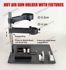 Hot Air Gun Holder with Fixtures for SMD Rework Soldering Desoldeing Station
