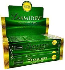 Nandita LaxmiDevi Incense Sticks / Agarbatties /Joss Sticks (15g x 12 packets)