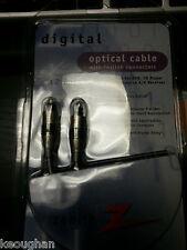 Zenith Digital Optical Cable - NIB - 12 Feet