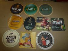 $.xx10 world OVERSEAS Beer coasters MIX+100 random selected coasters FREE! NR879