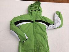 Columbia Women's Interchange 3 in 1 Winter Coat Jacket Apple Green White Sz M