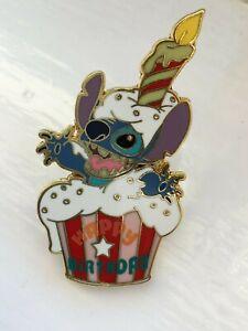 DISNEY DLRP LILO & STITCH, HAPPY BIRTHDAY STITCH CAKE PIN