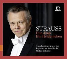 R. Strauss / Jansons - Don Juan & Ein Heldenleben [New CD]