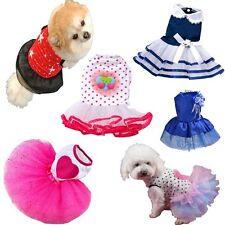 Small Dog Cat Tutu Dress Lace Skirt Pet Puppy Princess Cute Clothes HOT Apparel