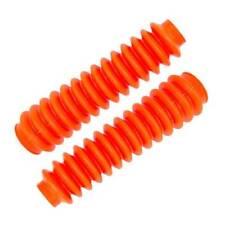 Pro Comp 12110 Poly-Vinyl Shock Boot Fluorescent Orange Pair
