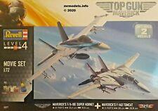 Revell 05677 Top Gun Movies Aircraft Model Kit Gift Set Hornet & Tomcat 1 72