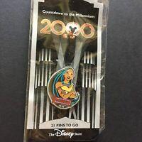 DS Countdown to the Millennium Series #22 Pocahontas Disney Pin 718