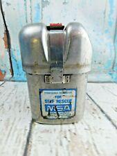 MSA W65 Self-Rescuer Respirator with Belt Loop Seal Intact Coal Miner Mining