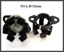 Kühlkörper Heatsink Aluminium Alu TO3 H=22mm schwarz 2 Stück