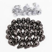 30PCS Skull Skeleton Stud Rivet Belt Collar Boot Purse Leathercrafts Punk Pirate