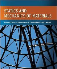 Statics and Mechanics of Materials by Ferdinand Beer, E. Russell Johnston, John