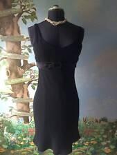 Nine West Black Cocktail Lined Sleeveless Dress Size 6