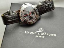 Baume Mercier Capeland 200M Automatic Chronograph W/Box Fantastic Example No Res