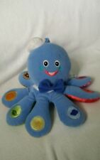 Baby Einstein Plush Doll Octopus Musical Talking Teaches English French Spanish