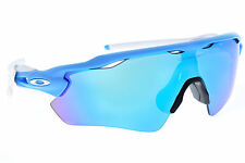 Oakley Radar EV Path Cycling Sunglasses Sky Frame Sapphire Iridium Lens