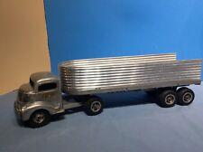 SMITH MILLER GMC SILVER STREAK Semi Truck & Fruehauf Trailer 1950