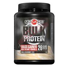 Musashi Bulk Protein Mass Gainer Vanilla 1.08KG