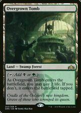 4x Overgrown Tomb - MTG Guilds of Ravnica - Mint/NM Pack Fresh