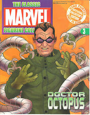 Doctor Octopus #3 Classic Marvel Lead Figurine & Magazine Collection Eaglemoss A