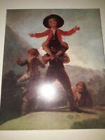 Goya, catalogue exposition de 1970. Musée de l'Orangerie