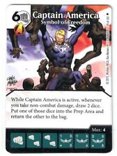 Marvel Dice Masters AOU, Captain America Symbol of Freedom 39/142 W/Dice