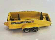 1976 Matchbox Lesney Superfast TP 7 Glider Transporter Gliding Club
