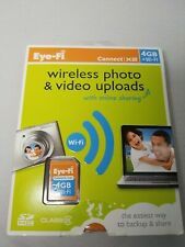 New listing Eye-Fi Connect X2 4Gb Wi-Fi Sd Card and Reader Wireless Uploads