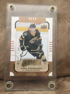 2015-16 Upper Deck MVP Gold Carl Soderberg #4 Serial 065/100