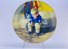 Border Fine Arts Moments of Wonder The Thinker Limited Edition Porcelain Plate