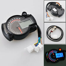 Front RX2N Motorcycle LCD Digital Speedometer Oil ODO Instrument Assembly LED