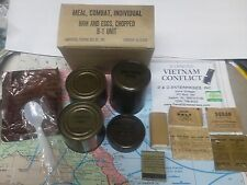 Military Vietnam C-Rations C-Ration meal - ONE box, ONE meal.z.