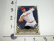 2013 TRIPLE THREADS Cliff LEE #99 Onyx SP/50 Philadelphia PHILLIES - Razorbacks