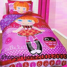 Lalaloopsy - Owl - Double/US Full Bed Quilt Doona Duvet Cover Set