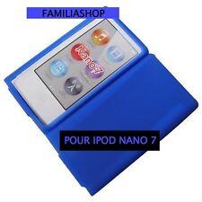Housse etui coque silicone bleu foncé pour iPod Nano 7 7G