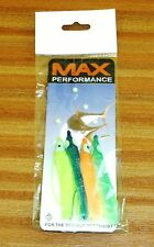 """Coloured Squid """"Muppet"""" sea lure trace of 4 including 2/0 hooks  line, NEW."""