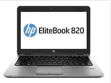 "HP Elitebook 820 G1 G5V88US 12.5""  Notebook Intel Core i7-4600U 2.1GHz Window 7"