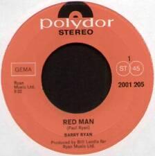 "[PAUL RYAN] BARRY RYAN ~ RED MAN / LONELIEST NIGHT OF THE YEAR ~ 1971 GERMAN 7"""