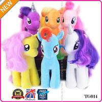 "My Little Pony Plush Beanie Babies Soft Plush Toy Teddy 7""(18CM) 12""(30CM) TG014"