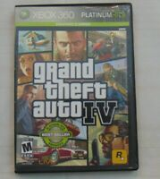 XBOX 360 Grand Theft Auto 4 Rated M Microsoft ESRB Case + Game