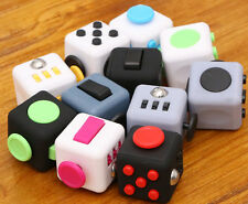 *Restocked* New Fidget Cube Desk Toy Stress Anxiety Relief Focus Tool *LOWEST*