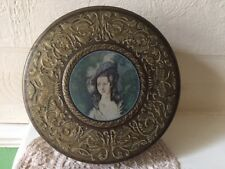 Vintage Huntley and Palmer Tin / Work basket Circa 1960 Renaissance Lady