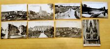 Lot of 8 Antique Postcards ALL CHATEAUNEUF-SUR-CHER, FRANCE