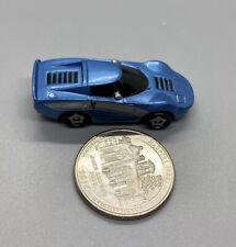 2003 Playmates Speedeez Micro Size Roller Ball Concept Car Blue, Good Cond
