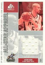 2002-03 Sp Game Used All-Star Apparel Nets Basketball Card #Kdas Jason Kidd