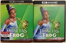 Disney Princess & The Frog 4K Ultra Hd Blu Ray 2 Disc Slipcover Ultimate Edition