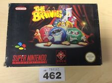 Super Nintendo SNES The Brainies