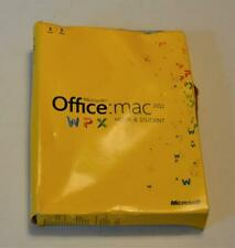 Microsoft Office Mac 2011 Home & Student Full Retail 1 MAC 1 users box,key,COA