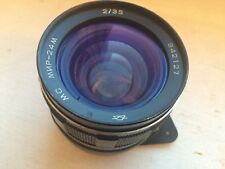 Full frame lens MC Mir 24 M f/2 35mm M42 screw